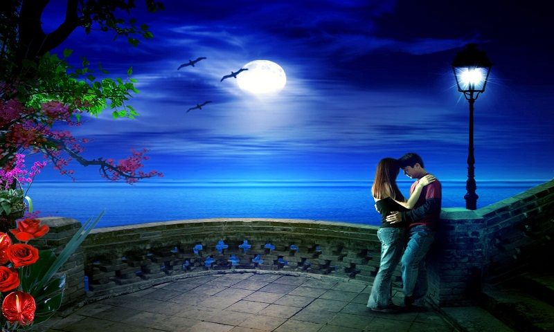 Free Love Romantic couple Live Wallpaper Free APK Download ...