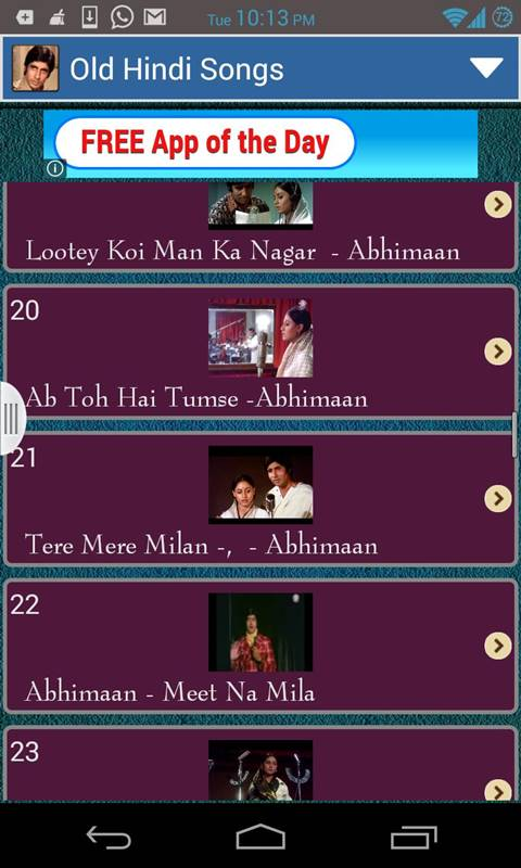 Bollywood Hit Songs - download.cnet.com