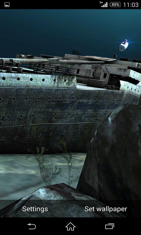 download wallpaper titanic under - photo #12