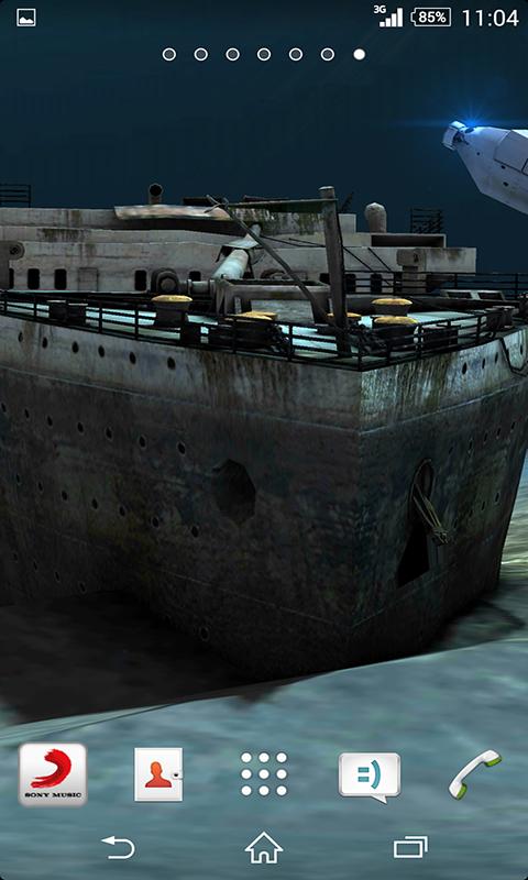 download wallpaper titanic under - photo #7
