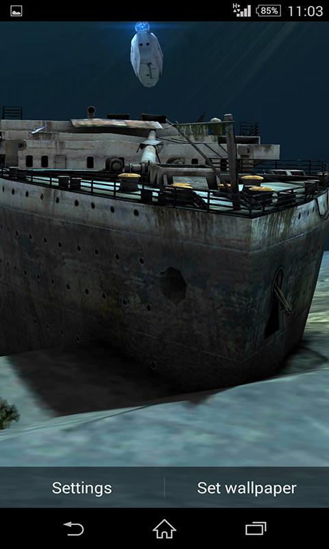 download wallpaper titanic under - photo #2
