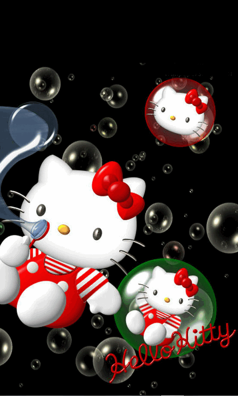 Free Hello Kitty Cute 3d Wallpaper Apk Download For