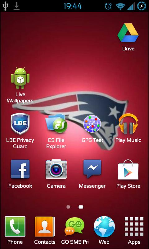 free new england patriots nfl live wallpaper apk download