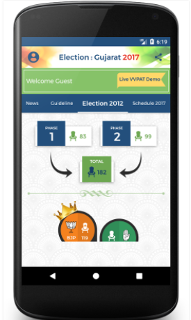 free gujrat assembly election apk download for android