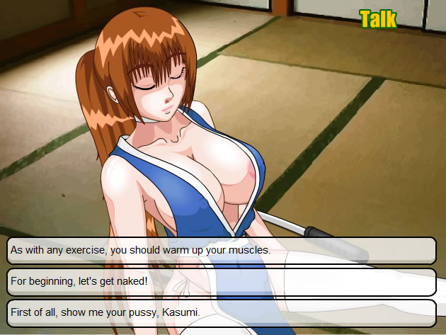 Kasumi rebirth sex game full length