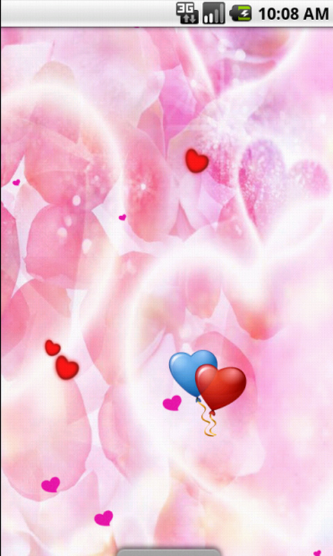 cute Love Wallpaper Apk : Free Pink Heart cute Live Wallpaper APK Download For ...
