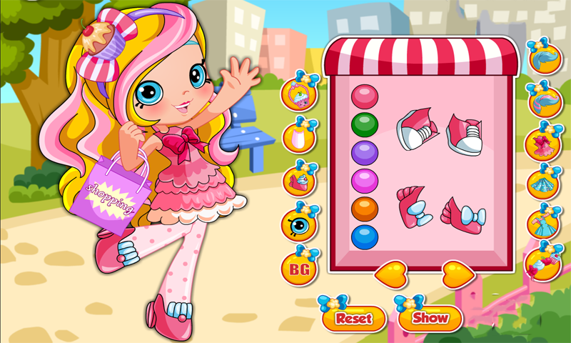 Free Shopkins Shoppies Jessicake Dress Up Apk Download For