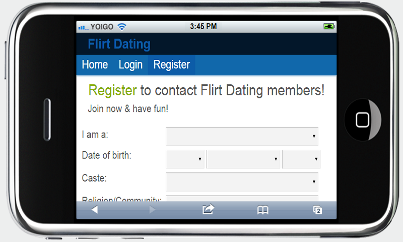 Jaumo Dating App, flirt