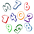 Spot Numbers icon
