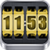3D Rolling Clock widgets GOLD app for free