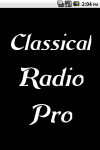 Classical Radio  Pro screenshot 1/3