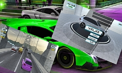 City Traffic Race Game 3D screenshot 1/2