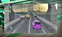 City Traffic Race Game 3D screenshot 2/2