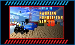 Car Parking Fork lifter Sim 17 screenshot 1/5