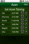 Azan Islam World screenshot 1/3