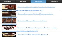 Brownie Recipe screenshot 3/3