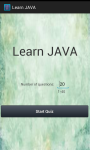 Learn Java screenshot 2/4