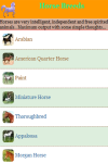The Horse Breeds screenshot 2/3