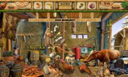 Free Hidden Object Games - Barn Yard screenshot 3/4