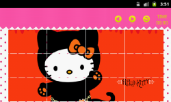 Hello Kitty Slider Puzzle HD screenshot 3/5