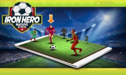 Superhero Soccer Challenging Game screenshot 1/5