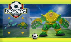 Superhero Soccer Challenging Game screenshot 2/5