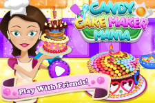 Candy Cake Maker Mania screenshot 1/5