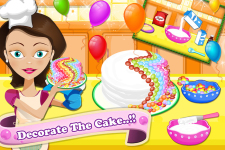 Candy Cake Maker Mania screenshot 5/5