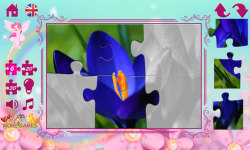 Puzzles for Girls: flowers screenshot 3/6