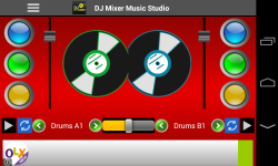 DJ Mixer Music Studio screenshot 1/3