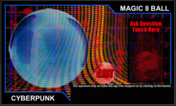 Cyberpunk Magic 8 Ball screenshot 1/2