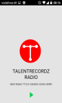 TalentReccordZ Radio screenshot 2/2